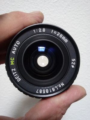 Vintage 28mm Wide-angle Prime in Pentax K-mount CLEAN for Sale in Montclair, CA