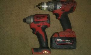 Milwaukee m18 brushless impact an m18 fuel drill/driver also brushless for Sale in East Dublin, GA