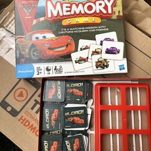 Cars Memory Game for Sale in Salem, OR