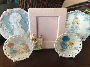 Precious Moments plates & Frame for Sale in West Covina, CA