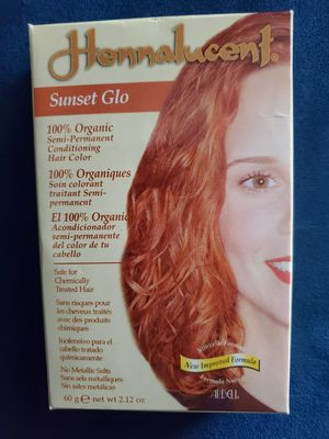 Hennalucent Sunset Glo 100% Organic Hair Color for Sale in Phoenix, AZ