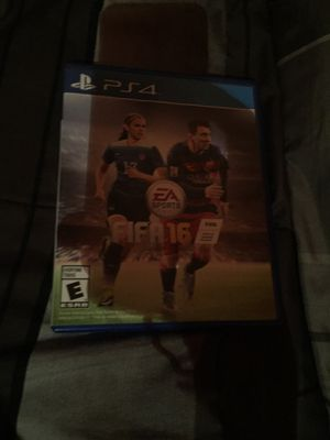 FIFA 16 PS4 for Sale in Alexandria, VA