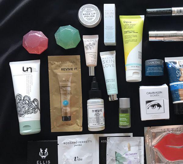 Beauty Products Bundle - Murad, Beauty Blender, Becca, Origins, NKD Skin, Lancôme, Ulta Beauty, Clinique, etc.