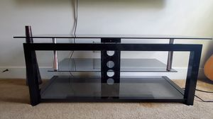 Glass/metal TV stand for Sale in Loxley, AL