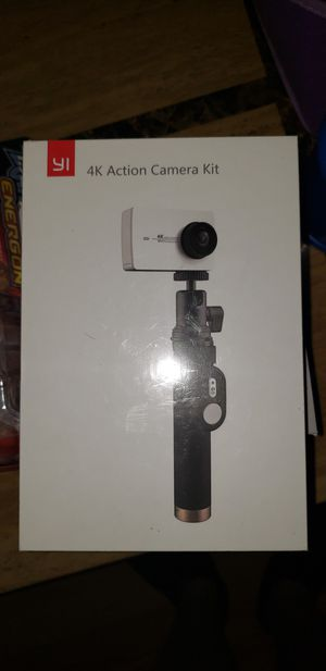 Yi 4k Action camera for YouTube video and selfie stick for Sale in Norridge, IL