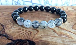 Healing Bracelet Wrist Mala Black Tourmaline for Sale in Elk Grove, CA