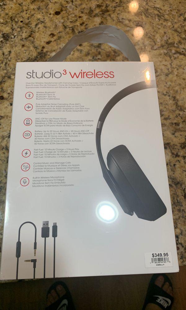 Brand new beats studio 3 wireless headphones