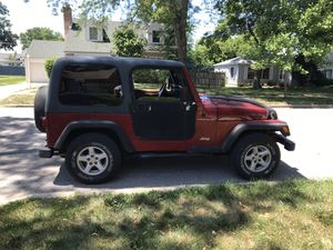 1999 Jeep Wrangler TJ 165K 4V V4 Manual 4Cyl 170K for Sale in Skokie, IL