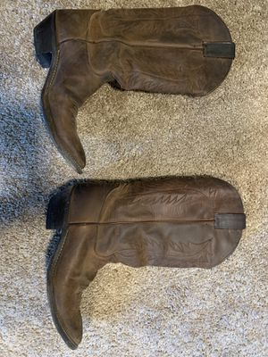 Justin boots for Sale in Lake Stevens, WA