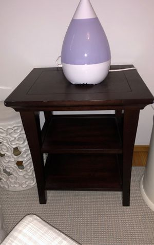 Pottery Barn Espresso Nightstand/End Table for Sale in Mountain View, CA