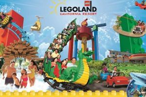 4 legoland 2 day park hopper tickets used one day and won't be able to come back for the 2nd use Expires 7/31 for Sale in Whittier, CA