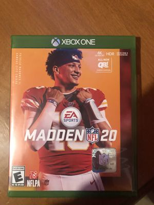 Madden 20 for Sale in Bakersfield, CA