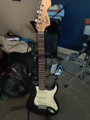 Electric Squire guitar for Sale in Houston, TX