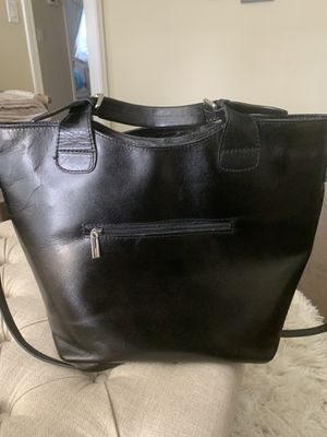 Genuine Italian leather black purse for Sale in San Jose, CA
