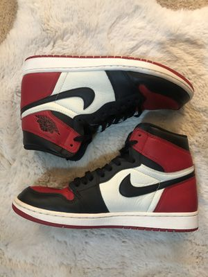 Jordan 1 Bred Toe for Sale in Corona, CA
