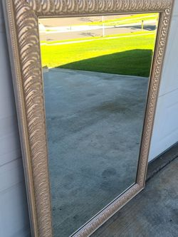 """Beautiful Large Golden Mirror In Great Condition! 42""""1/2 × 31"""" 1/2 for Sale in Rancho Cucamonga,  CA"""