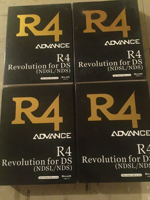 Brand New R4 Advance Revolution Ds/Ndsl/Nds for Sale, used for sale  New York, NY