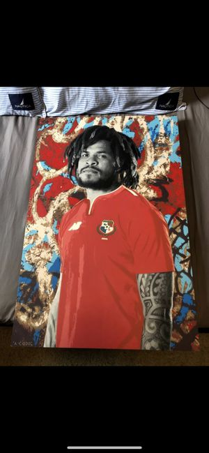 Roman Torres World Cup/Sounders painting for Sale in Issaquah, WA