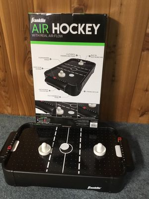 Table top air hockey game for Sale in Roselle, IL