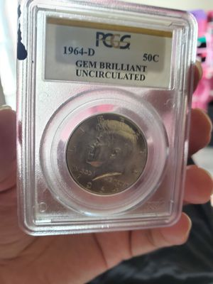 1964-d 50c gen brillant uncirculated for Sale in Torrance, CA