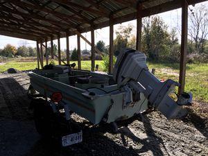 16' Ouachita, 60 hp Johnson for Sale in Kathleen, GA