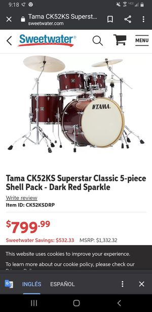 Tama drum set for Sale in Wasco, CA