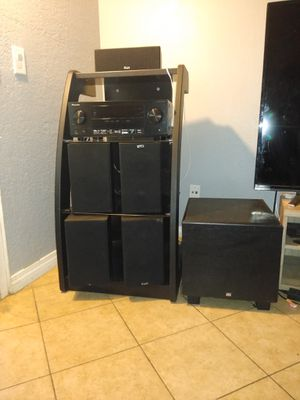 Pioneer receiver with speakers for Sale in Escondido, CA