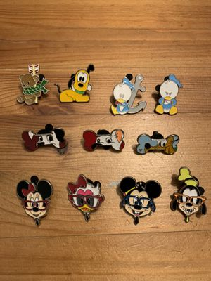 Disney Trading Pins - Cutsie pack for Sale in Brea, CA