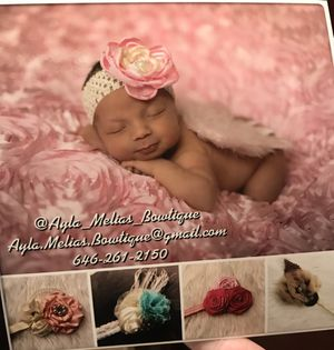 Baby headbands for Sale for sale  Manalapan Township, NJ