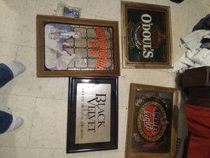 Beer mirrors for Sale in Kolin, LA