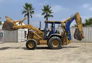 Caterpillar tractor backhoe for Sale in Winchester, CA