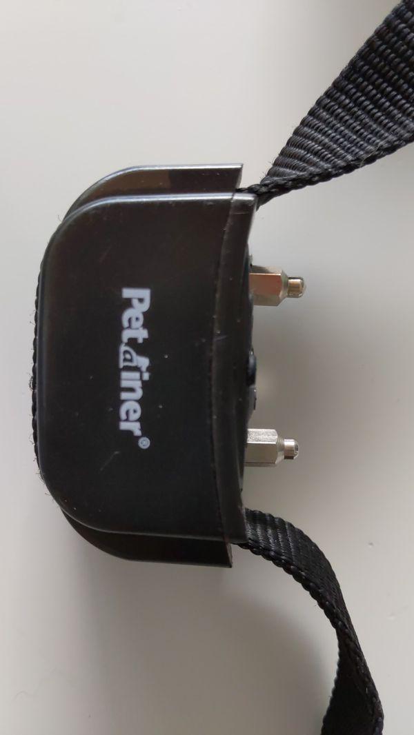 Pet remote dog training collar