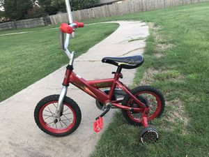 Lightning McQueen bicycle for Sale in Lawton, OK