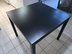 Tall black dining table for Sale in Hollywood, FL