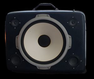 Vintage Suitcase Boombox Speaker System by ReSpeak for Sale in Ashburn, VA