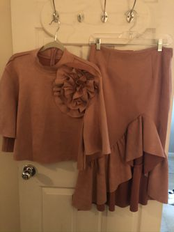 Blush Color Skirt Set for Sale in Edgewood,  MD