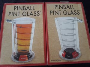 2 New Pinball Pint Glasses for Sale in El Cajon, CA