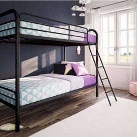 DHP Black metal twin size bunk beds *Delivery for a fee* for Sale in Woodbridge, VA