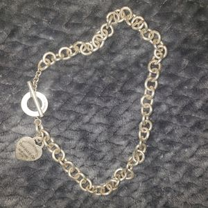 Tiffany solid silver necklace for Sale in Englewood, CO