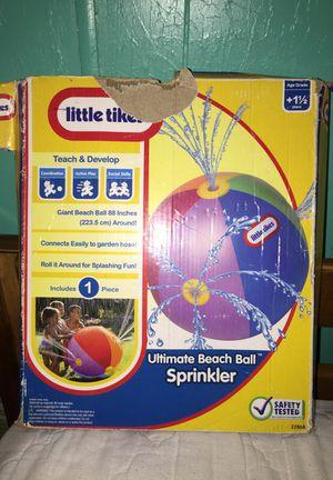 Ultimate beach ball sprinkler for Sale in Austin, TX