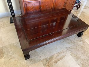 LUXURIOUS rosewood coffee table for Sale in West Palm Beach, FL