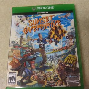 Xbox one game sunset overdrive works great for Sale in Lake Stevens, WA