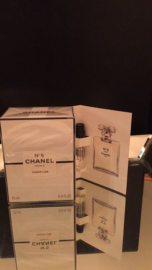 Chanel No5 Parfum + mini travel size BNIB for Sale in Lake in the Hills, IL