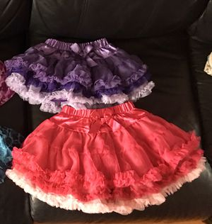 Ruffled Ribbon Frilly Tutu Skirts for Sale in San Jose, CA