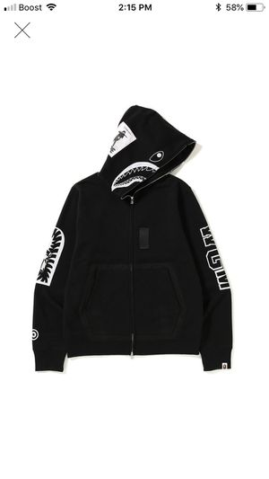 Bape Military Full Zip Shark Jacket for Sale in Cypress, CA