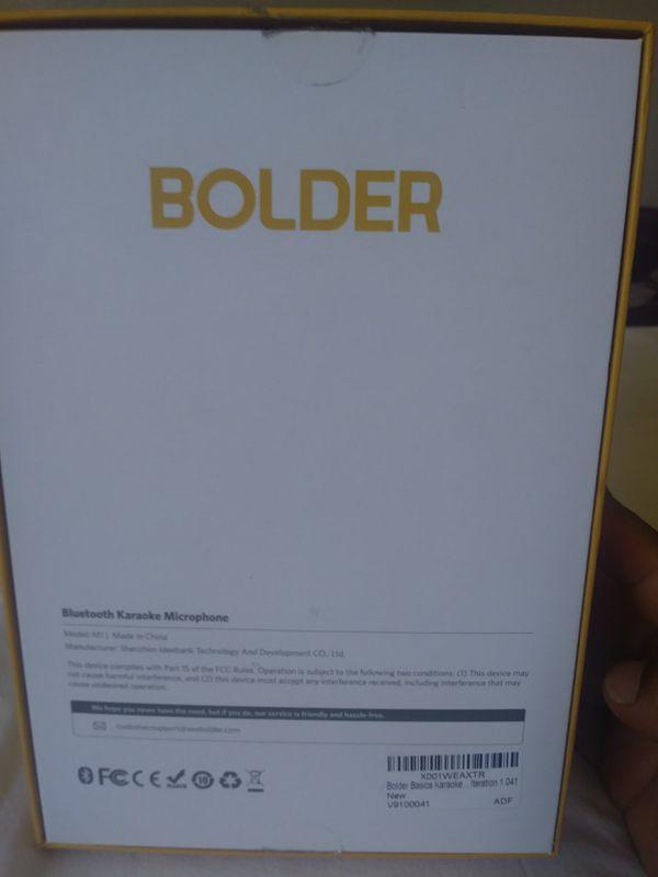 Bolder Bluetooth Microphone