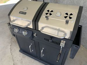 BBQ grill brand new charcoal and propane dual for Sale in Chino Hills, CA