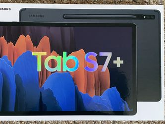 Brand New Factory Sealed Samsung Galaxy Tab S7 Plus - 256GB Black for Sale in Salem,  NH