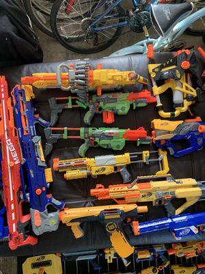 Nerf Gun Lot 50 Nerf Guns for Sale in City of Industry, CA