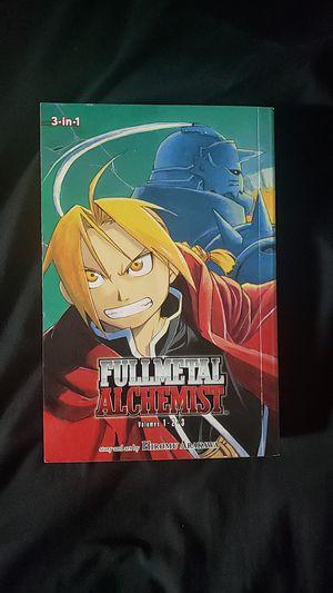 Full Metal Alchemist Manga volume 1-3 for Sale in Belmont, MA